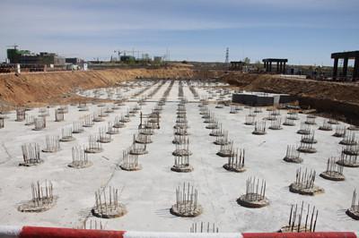 天工公司土建第四项目部高标准抓好曹家滩原煤仓工地品牌形象建设