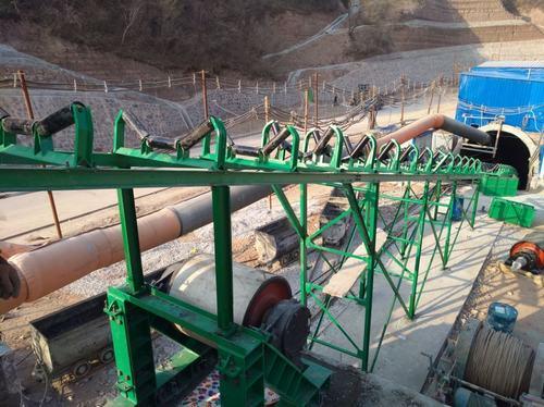 矿建二公司冶坪项目部主、副、风实现全面贯通