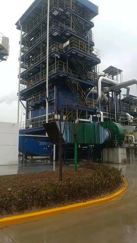 陕煤建设天工公司参建的重泉电厂余热发电项目末次商业运行验收圆满成功