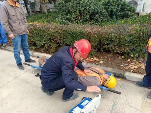 咸阳分公司积极开展冬季消防演练活动