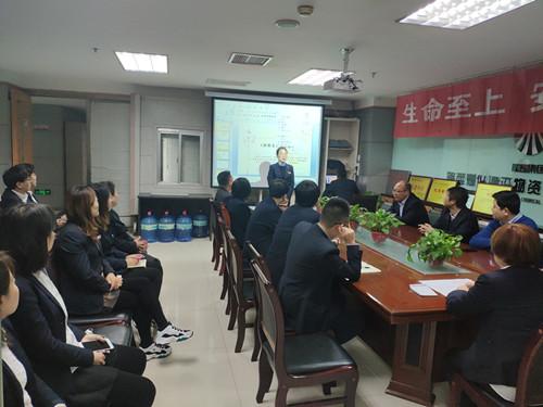 陕煤建设物资公司开展青年员工无主题演讲活动