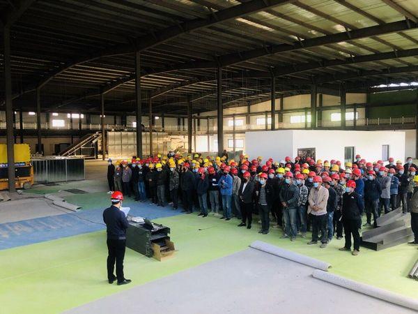 陕煤建设各单位召开生产安全警示教育大会